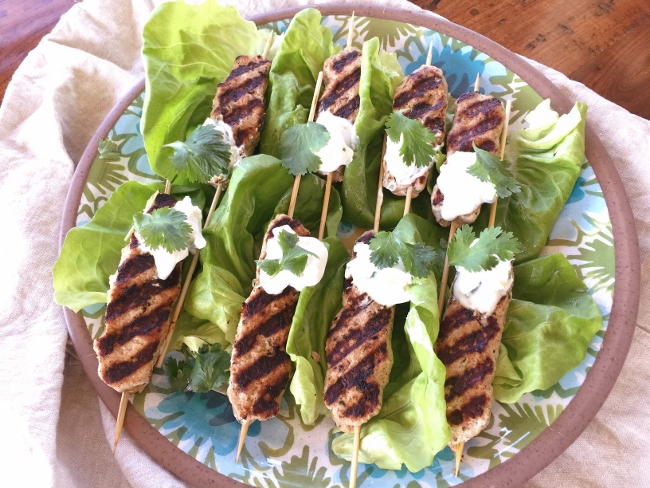 Turkey Kofta Kebabs with Tzatziki Sauce – Recipe! Image 1