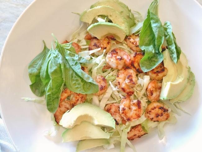 Crispy Shrimp & Avocado Salad – Recipe! Image 3