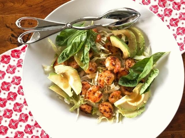 Crispy Shrimp & Avocado Salad – Recipe! Image 1