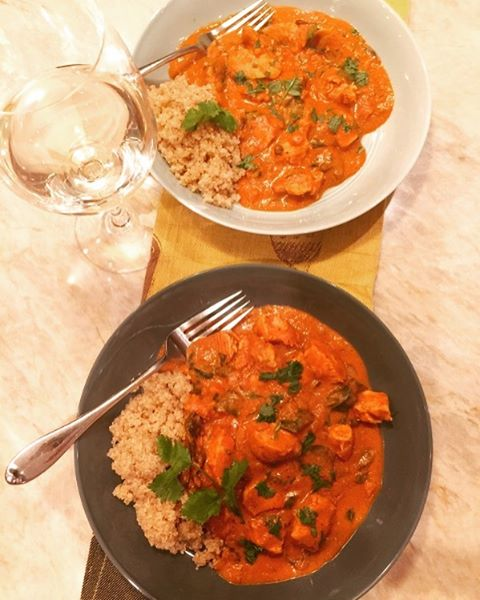 Craving some Indian Cuisine?? Easy Butter Chicken Recipe just posted!hellip