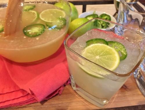 Skinny Jalapeno Margaritas – Recipe!
