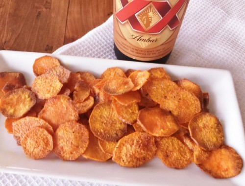 Smoky Baked Sweet Potato Chips – Recipe!