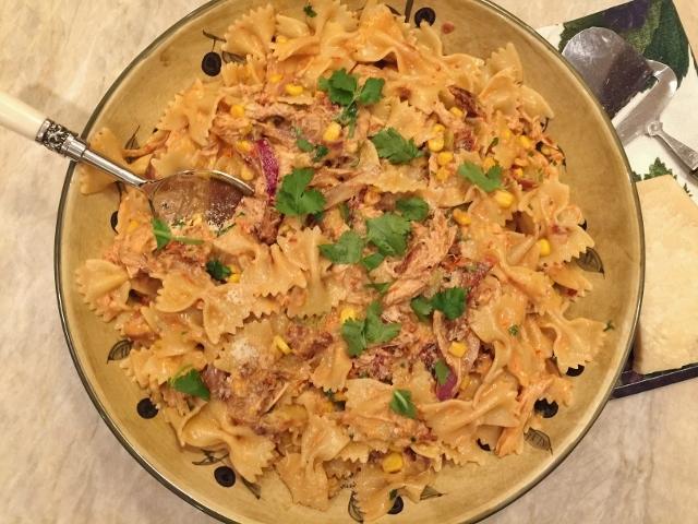 Rotisserie Chicken Santa Fe Pasta – Recipe! Image 2