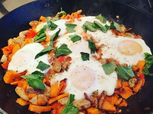 Its that kind of morning  Sweet Potato Hash amphellip
