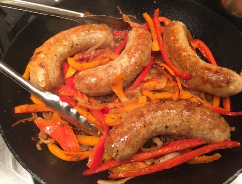 Stovetop Sausage & Peppers – Recipe!