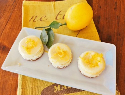Mini Meyer Lemon Cheesecakes – Recipes!