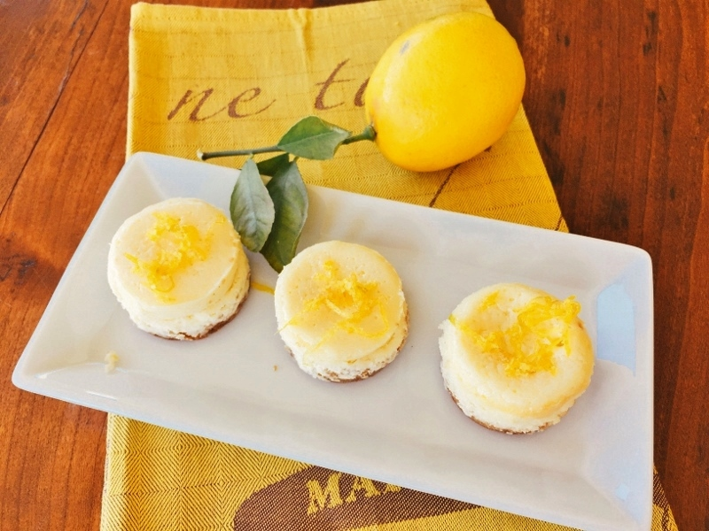 Mini Meyer Lemon Cheesecakes – Recipes! Image 1