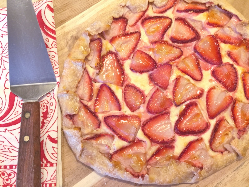 Strawberries & Cream Galette – Recipe! Image 13