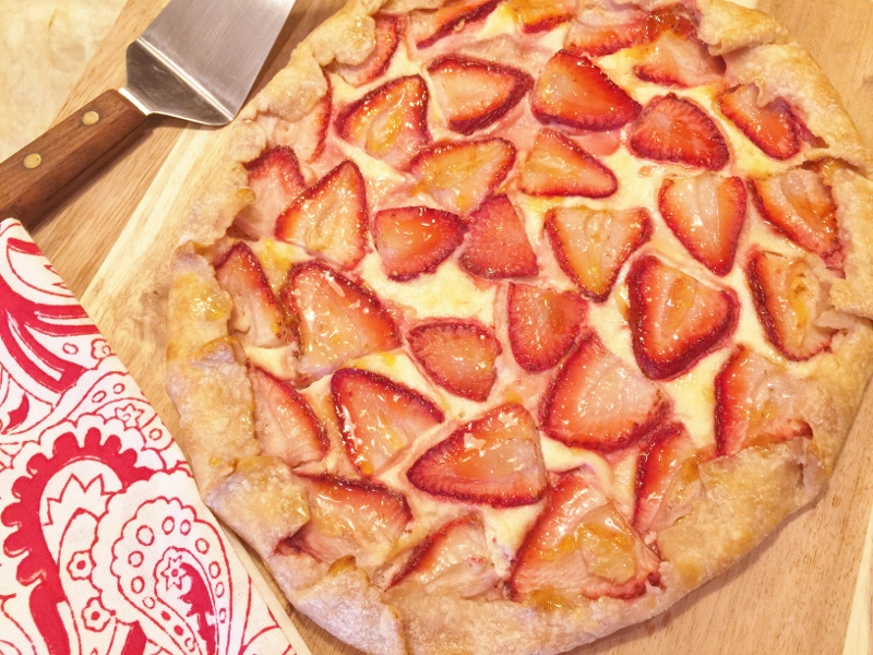 Strawberries & Cream Galette – Recipe! Image 1