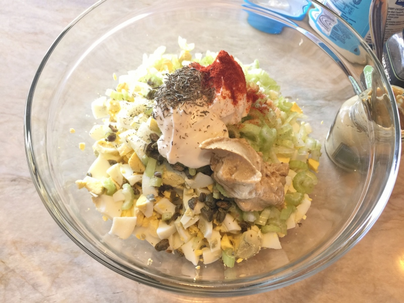 Springtime Egg Salad – Recipe! Image 6
