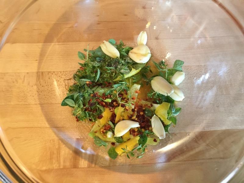 Social Sundays — Roasted Lemon Garlic Chicken, Spring Greek Salad and Lavender Creme Brulee! Image 14