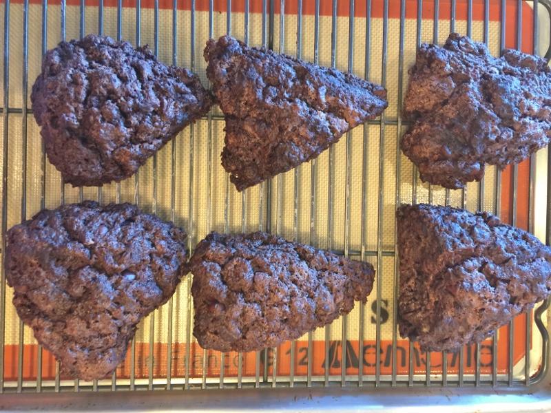 Mocha Scones with Espresso Glaze – Recipe! Image 10