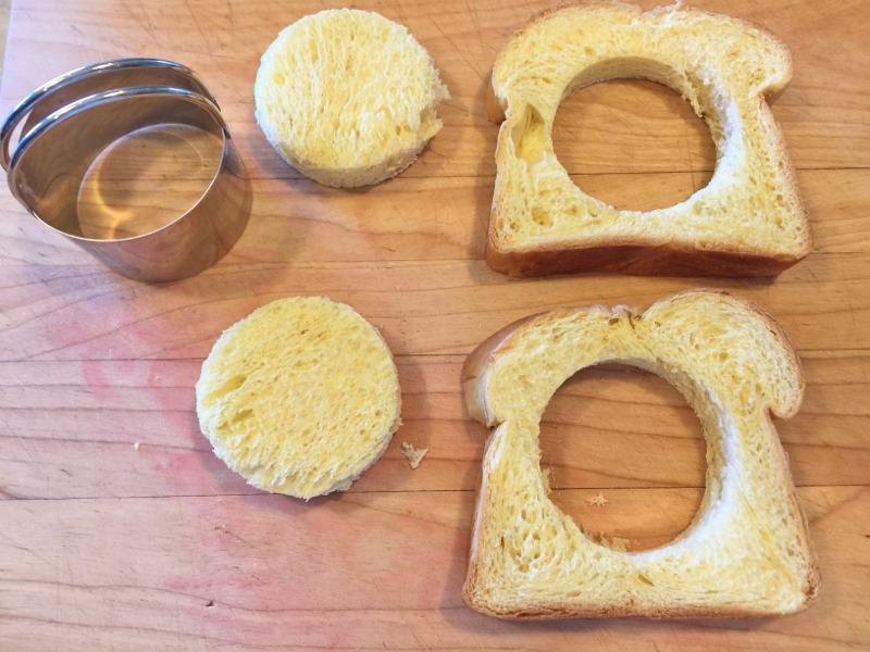 Toad in a Hole French Toast – Recipe! Image 4