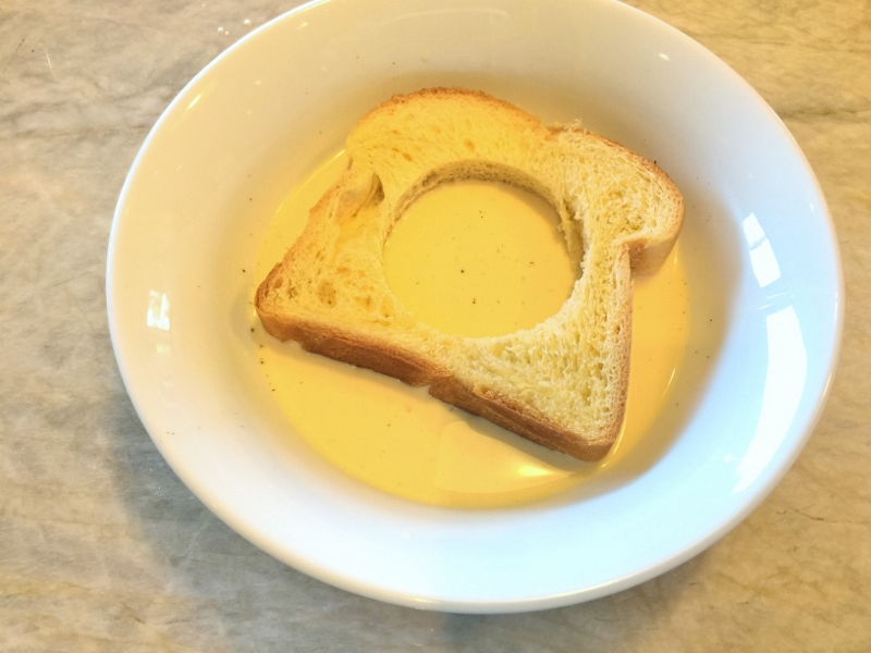 Toad in a Hole French Toast – Recipe! Image 5
