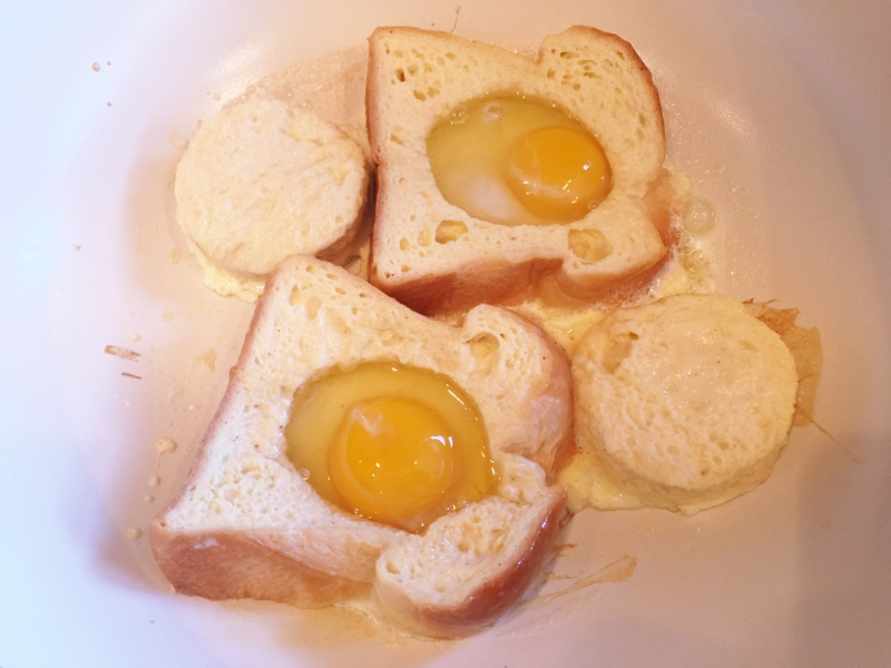 Toad in a Hole French Toast – Recipe! Image 6
