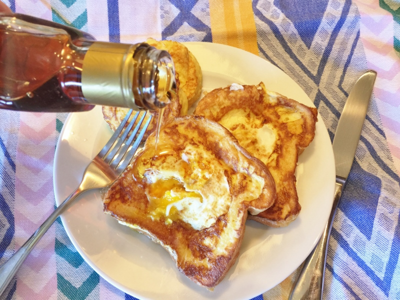 Toad in a Hole French Toast – Recipe! Image 8