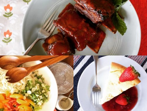 Social Sundays – Glazed Short Ribs, Shaved Fennel & Citrus Salad, and New York Cheesecake!