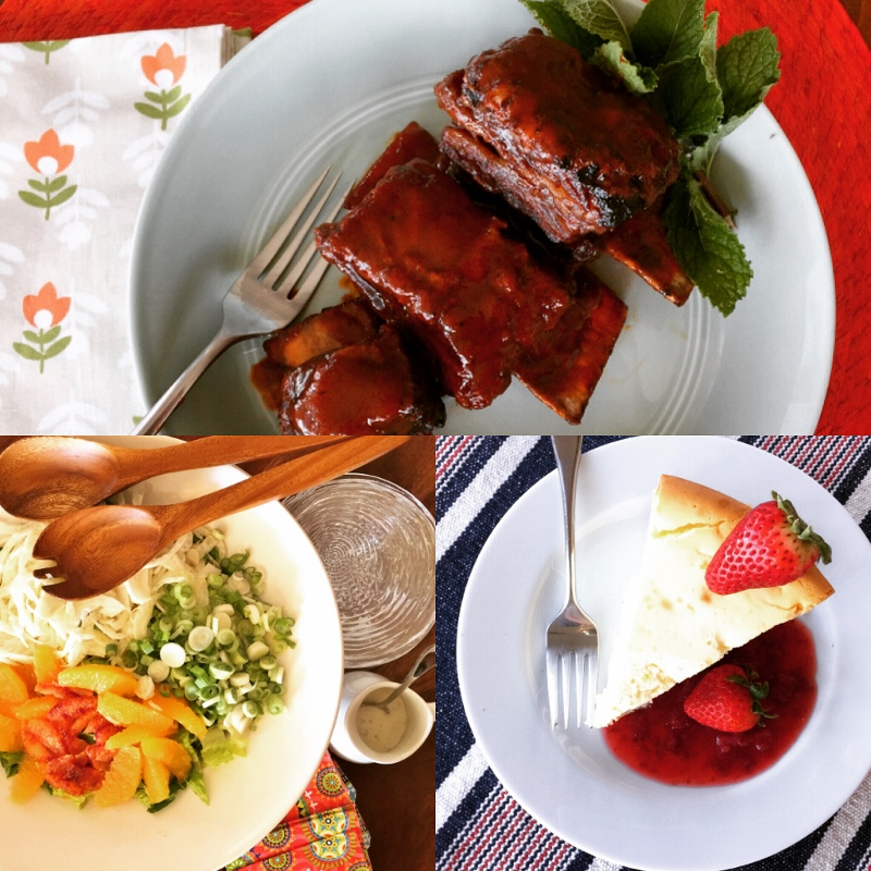 Social Sundays – Glazed Short Ribs, Shaved Fennel & Citrus Salad, and New York Cheesecake! Image 1