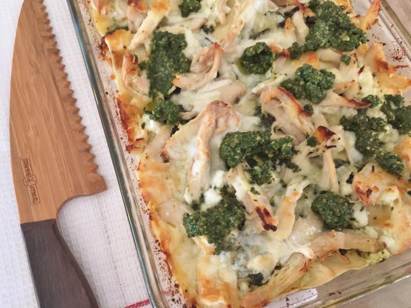 Chicken Pesto Lasagna – Recipe! Image 8