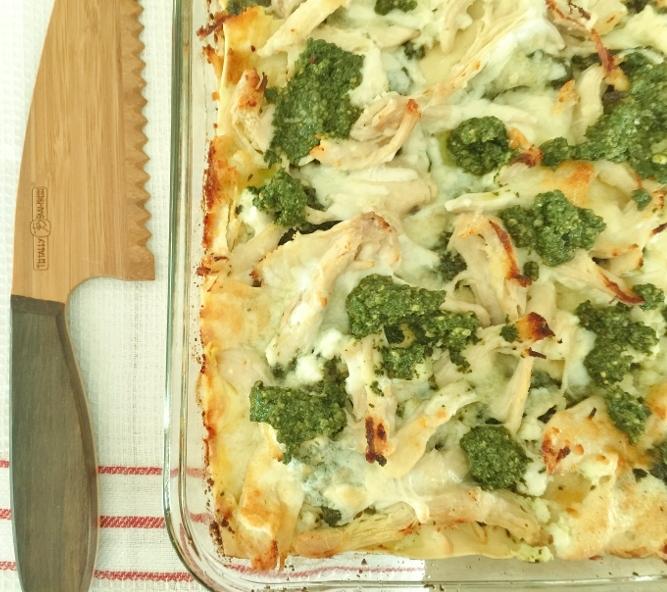 Chicken Pesto Lasagna – Recipe! Image 2