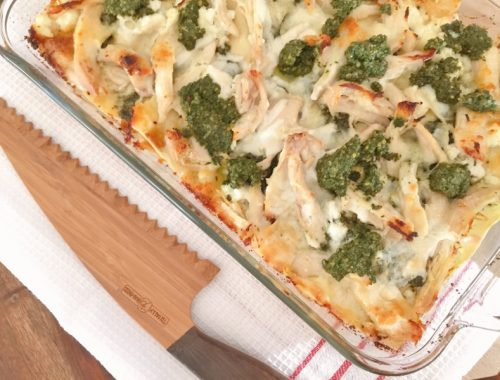 Chicken Pesto Lasagna – Recipe!