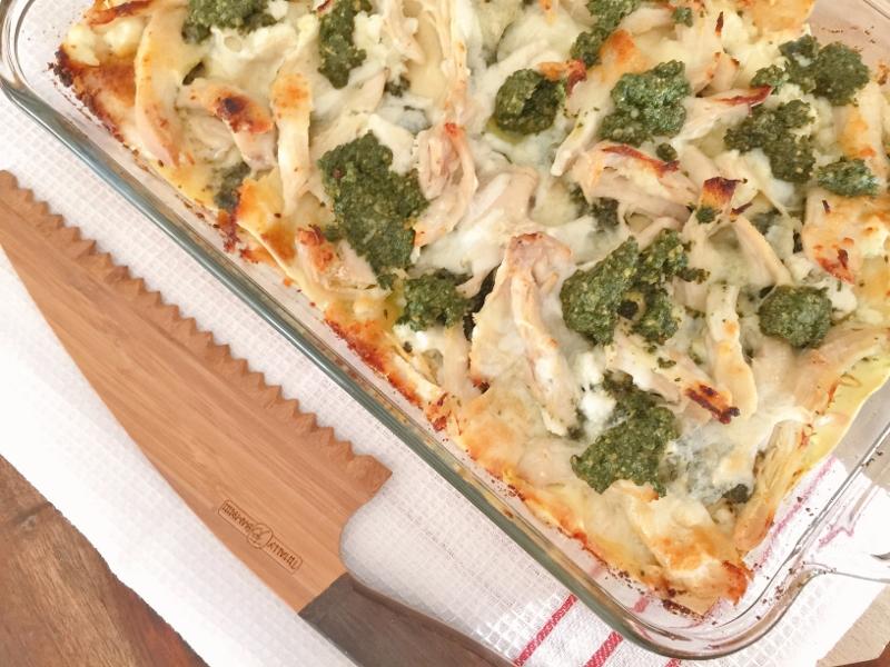 Chicken Pesto Lasagna – Recipe! Image 1