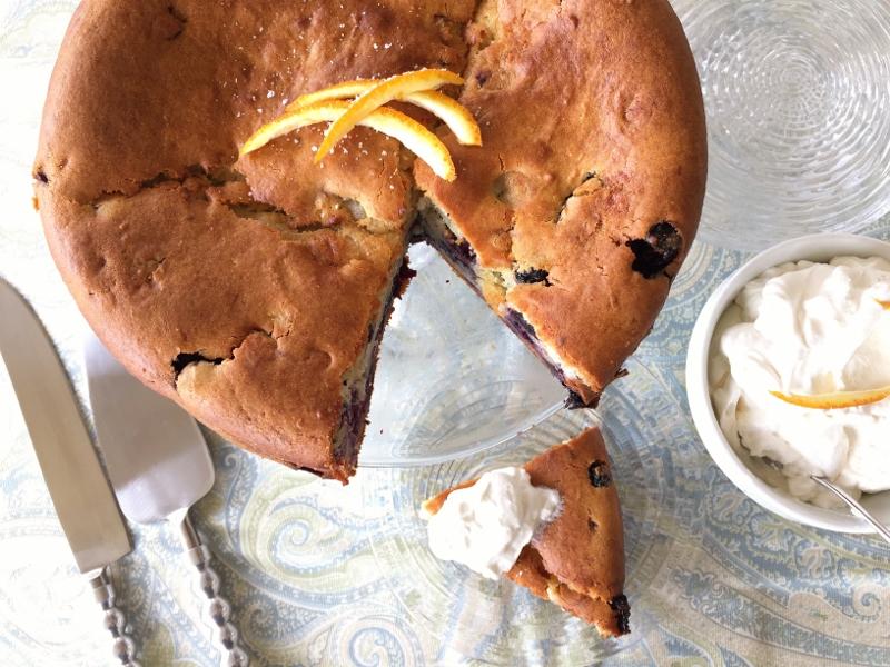 Blueberry Orange Cake – Recipe! Image 1