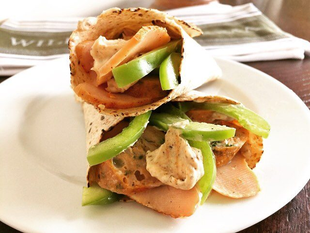 Spice it Up  Raging Cajun Turkey Wraps! Recipe justhellip