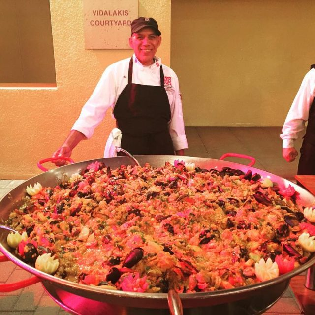 Is this the biggest Paella ever!! Class Reunions are sohellip