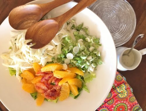 Shaved Fennel & Citrus Salad with Buttermilk Dressing – Recipe!