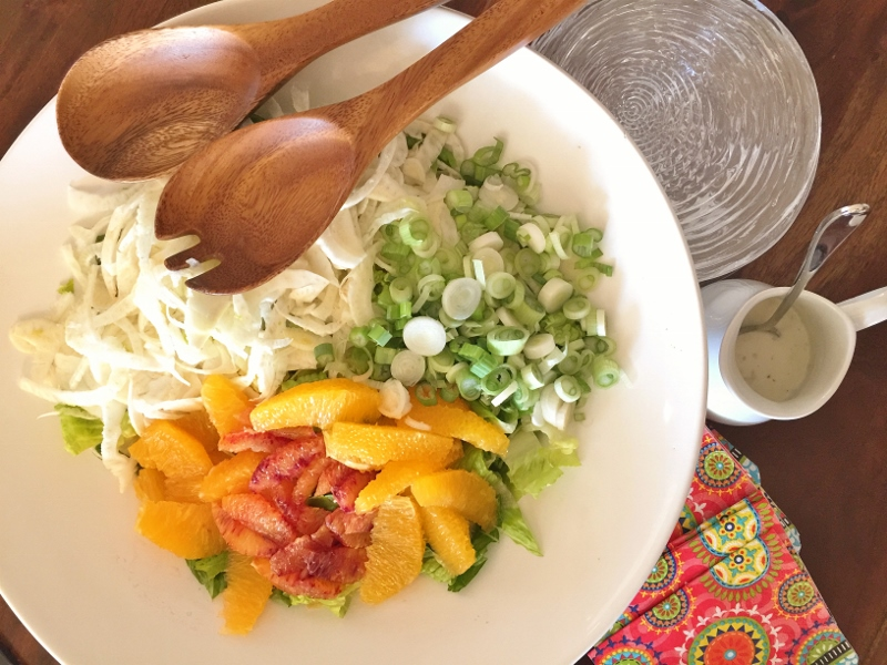 Shaved Fennel & Citrus Salad with Buttermilk Dressing – Recipe! Image 1