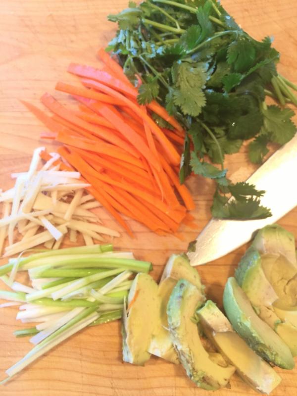 Shrimp & Avocado Springrolls – Recipe! Image 5