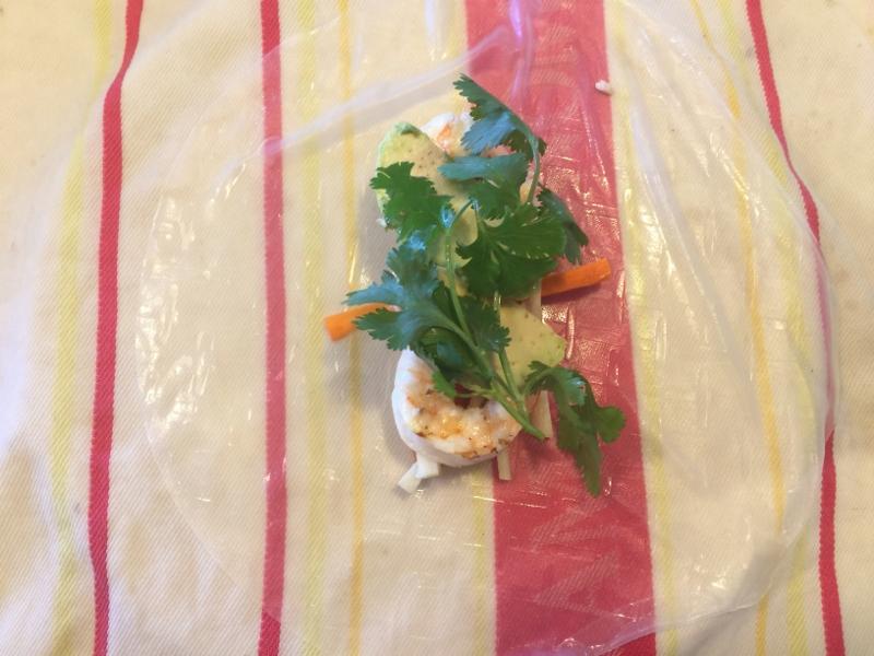 Shrimp & Avocado Springrolls – Recipe! Image 7