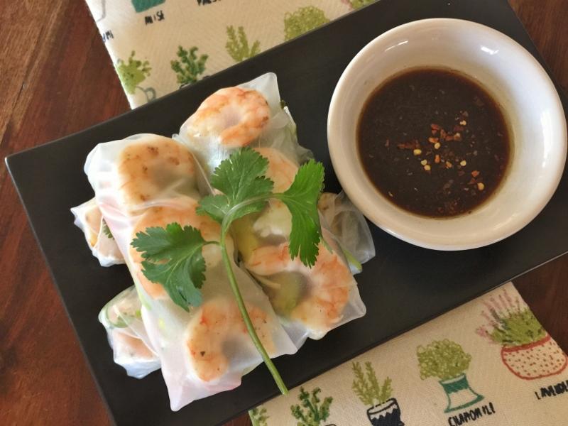 Shrimp & Avocado Springrolls – Recipe! Image 1