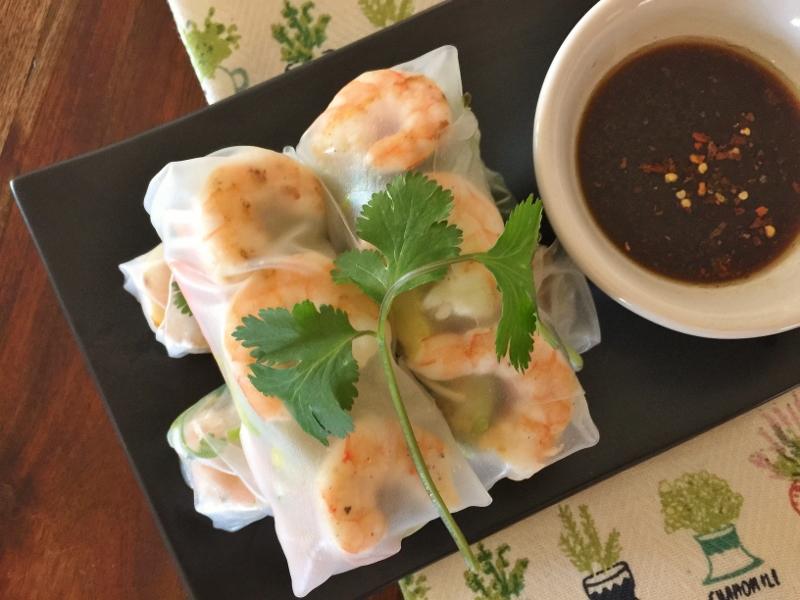 Shrimp & Avocado Springrolls – Recipe! Image 2