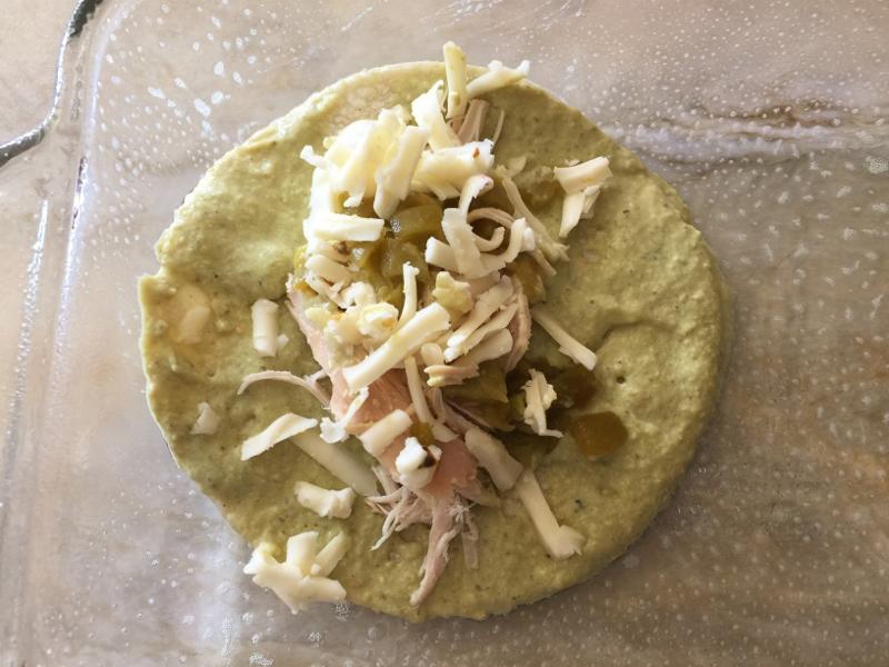 Rotisserie Chicken Enchiladas Verdes – Recipe! Image 8