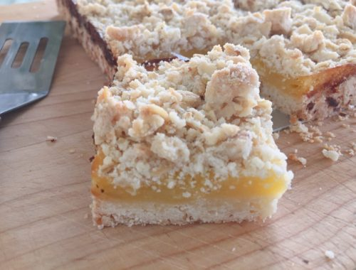 Lemon Crumb Bars – Recipe!
