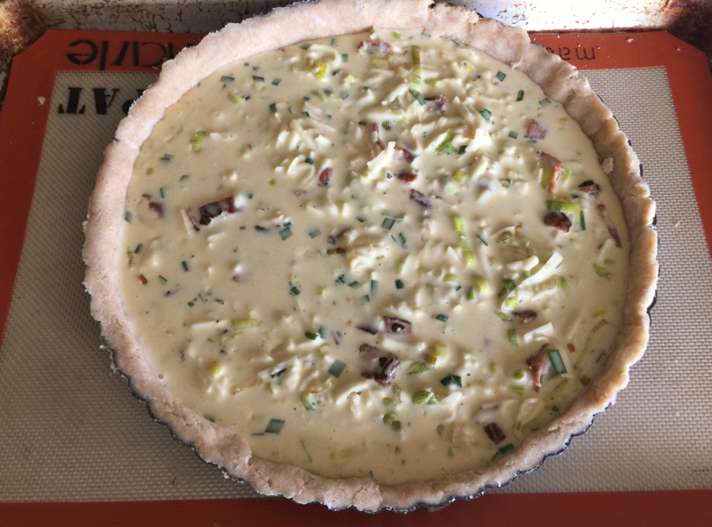 Bacon & Leek Quiche Tart – Recipe! Image 10