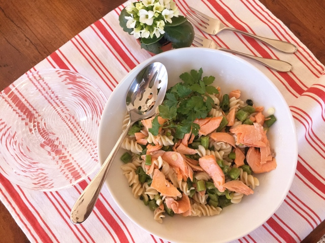 Salmon Pasta Salad – Recipe! Image 1