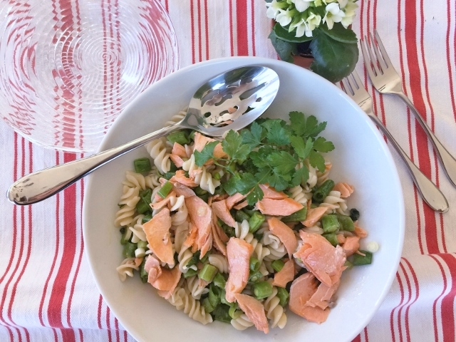 Salmon Pasta Salad – Recipe! Image 2