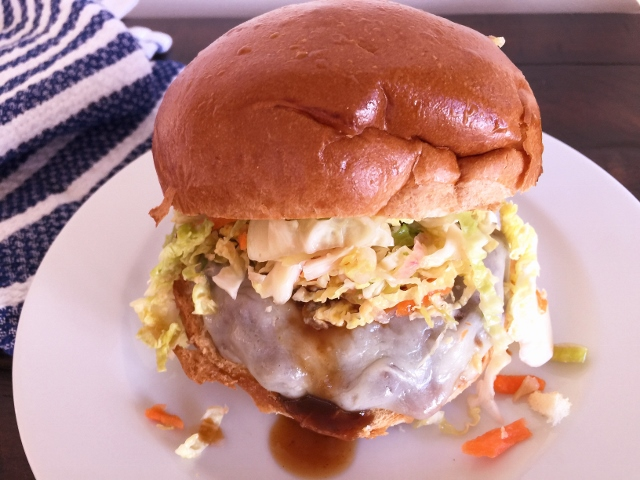 Korean BBQ Burgers with Quick Kimchi Slaw – Recipe! Image 1