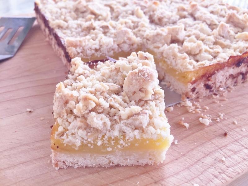 Lemon Crumb Bars – Recipe! Image 2