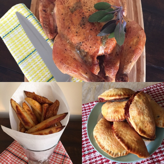 Social Sundays – Roast Sage Chicken & Smoky Steak Fries, and Mini Cherry Hand-Pies! Image 1
