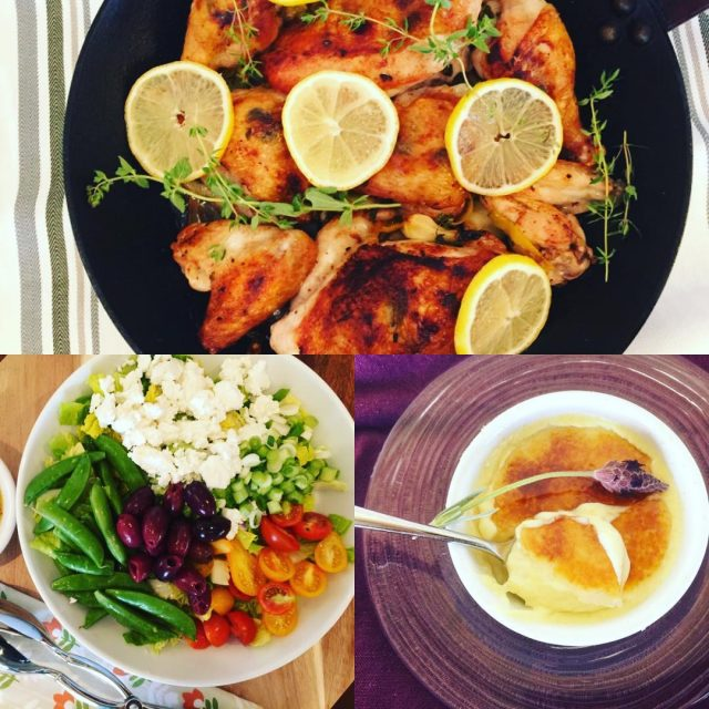 Social Sundays Menu  Roasted Lemon Chicken Greek Salad andhellip