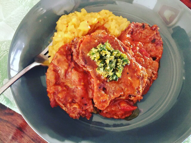 Social Sundays Osso Bucco with Risotto Milanese! Find the recipeshellip