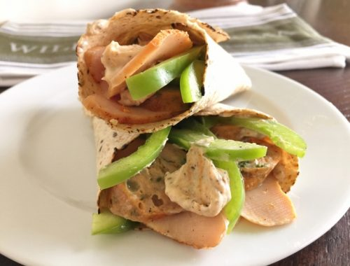 Raging Cajun Turkey Wraps – Recipe!