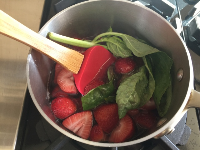 Strawberry Basil & Rose' Wine Sorbet – Recipe! Image 4
