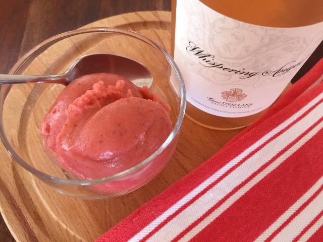 Strawberry Basil & Rose' Wine Sorbet – Recipe! Image 8
