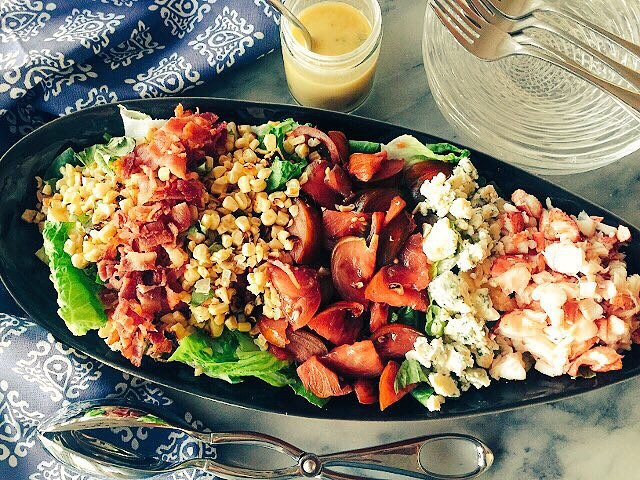 Classic American Favorite Recipes like this Lobster Cobb Salad tohellip
