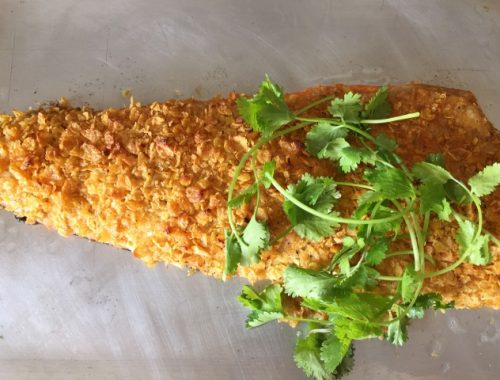 Cornflake Crusted Salmon – Recipe!